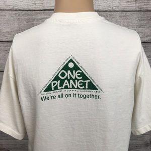 Vintage Shirts - 1990s Endangered Animal Single Stitch Tee